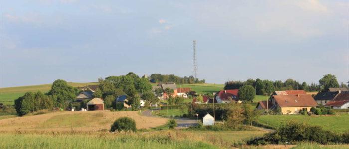Ortseingang aus Richtung Harspelt